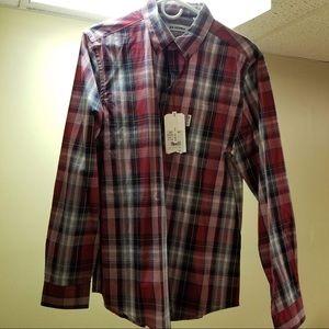 Men's button down shirt.